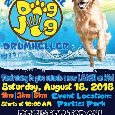 2nd Annual Dog Jog 2018 - NEXT SATURDAY!!!