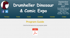 Drumheller Dinosaur & Comic Expo - we will be there!