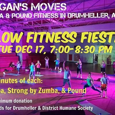 Glow Fitness Fiesta - Dec 17  7-8:30 pm