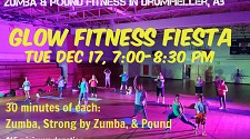 Glow Fitness Fiesta - Dec 17  7-8:30 pm
