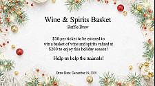 Christmas Wine and Spirits Basket