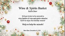 Christmas Wine and Spirits Basket
